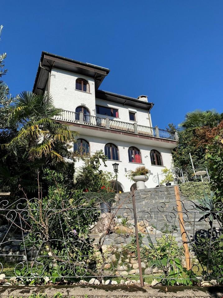 Stupenda villa d'epoca bifamiliare, Basso Malcantone