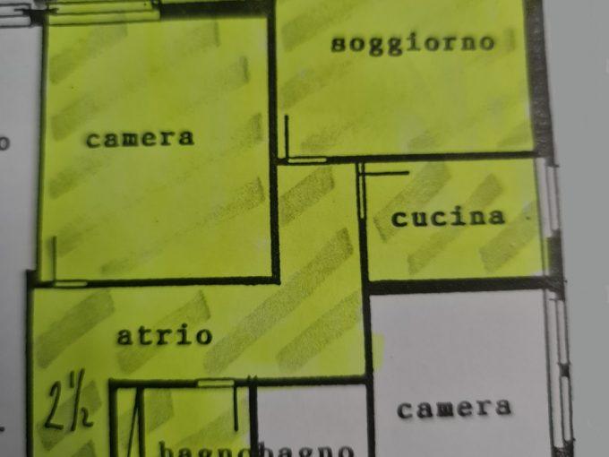 Massagno, 2.5 locali con comodo balcone